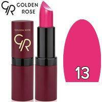 Губная помада матовая Golden Rose Velvet Matte Lipstick Тон 13 Fuchsia