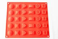 """Силиконовая форма """"Конфетки ассорти"""" 27,5 см 24 см"""