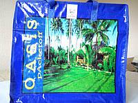 Хозяйственная сумка полипропиленовая горизонтальная №3 (Пальмы), фото 1