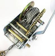 Ручная лебедка 2000LBS стальной трос TRT1201C