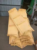 Удлинитель верхнего решета комбайна Нива Евро, Нового образца, УВР 44Б-2-12-4А