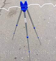Подставка фидерная, телескопическая под 5 удилищ, металлическая 1,2 м.