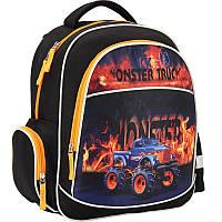 """Рюкзак ортопедический школьный Kite """"Monster Truck"""""""