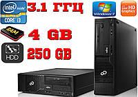 Компьютер Esprimo, Intel i3 3.1 Ghz, 4 Gb RAM, HHD 250 Gb, Win7 PRO + гарантия 1 год