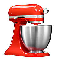 Миксер планетарный KitchenAid Mini 5KSM3311XEHT, 3,3 л. красный чили