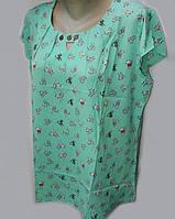 Молодежная классическая блуза свободного кроя 1113