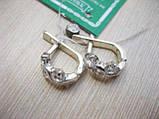 Изящные серебряные серьги Смородина, фото 2