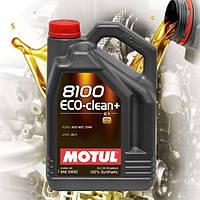 Моторное масло Motul 8100 Eco-clean+ 5W30 (5л)