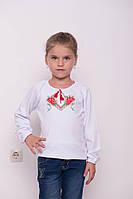 Детская вышиванка девочкам  р.104. Хлопок -интерлок.0735инб. В наличии 98,104,110,116 Рост