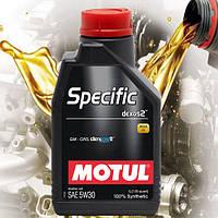 Моторное масло Motul Specific Dexos2 5W30 (1л)