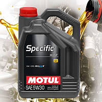 Моторное масло Motul Specific Dexos2 5W30 (5л)