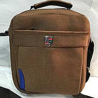 Классическая мужская сумка через плече Puma Ferrari. Для модного мужчины. Компактная. Хорошее качество  оптом