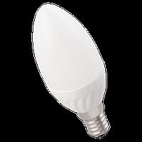 Лампа LED ALFA C35 свічка 6Вт 230В 3000К E14 IEK