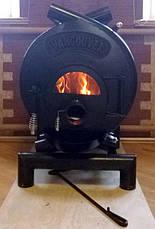 Канадская печь Montreal тип 02 (по-02) со стеклом С14, фото 3