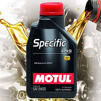 Моторное масло Motul Specific 229.51 5W30 (1л)