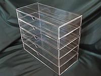 Акриловый органайзер для косметики Cosmetic Organizer, фото 1