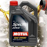 Моторное масло Motul Specific 229.51 5W30 (5л)