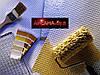 Варианты декоративных методов окрашивания стеклообоев Велтон