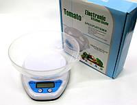 Весы кухонные Electronic QZ-129, (5кг/1г) с чашей