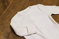 Человечек Early Days для новорожденной девочки Белый в мелкую розовую полосочку