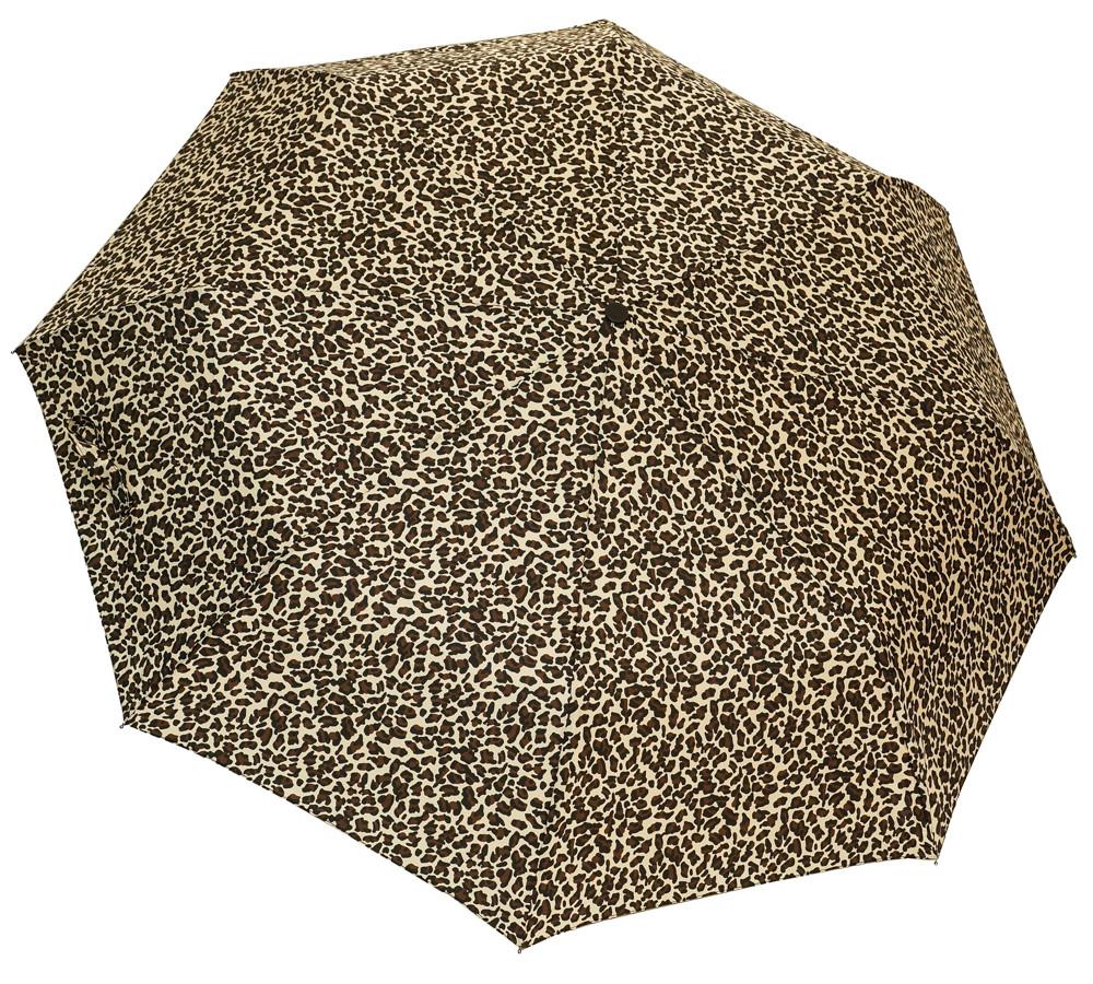 Женский зонт леопардовый 3679/1