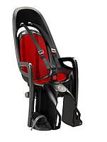 Велокресло детское Hamax Zenith на багажник серое/красное