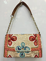 Женская сумка клатч DG 67-50284 вышитый гладью  в камнях и стразах