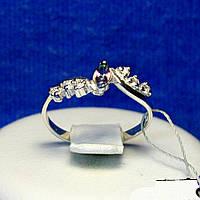 Серебряное кольцо с цирконием цвета хамелеон кс 827мис топ