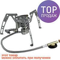 Горелка газовая складная с пьезо Tramp TRG-010 \ Газовая горелка для туризма