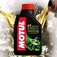 Масло для 4-х тактных двигателей мотоцикла Motul 5100 4T 10W50 (1л)