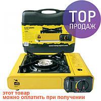 Плита портативна газовая Tramp TRG-004 \ Одноконфорочная портативная плитка