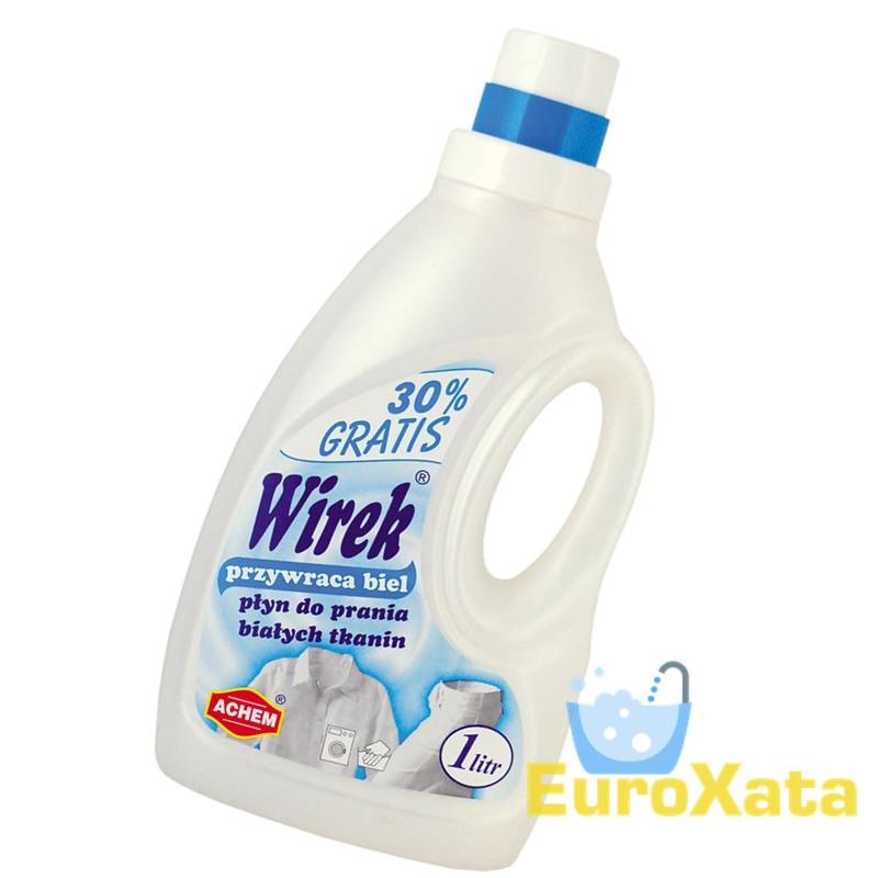 Гель для стирки Wirek White (1л)