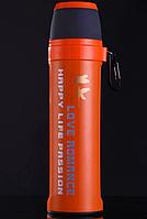 Термос Passion 550 мл, с карабином. Оранжевый