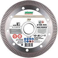 Круг алмазный Distar 1A1R MULTIGRESS 125 мм отрезной алмазный диск по керамограниту и тяжелой керамике