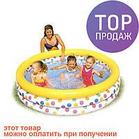 "Детский бассейн ""Мозаика"" 168 х 41 см, Интекс 56440 / надувной басейн"
