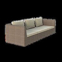 Треххместный диван из техноротанга Lagoon