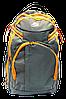 Удобный рюкзак сумка на колесах желто-черного цвета PPP-000688