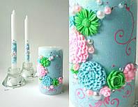 Набор свадебных свечей С-710 (весенний)