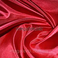 Подкладочная ткань Ацетатный шелк шелковая подкладка темно-красный,