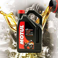 Масло для 4-х тактных двигателей мотоцикла Motul 7100 4T 10W40 (4л)
