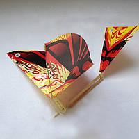 Літаючі птахи - проклеєні (полусобранные),великі орнітоптер, фото 1
