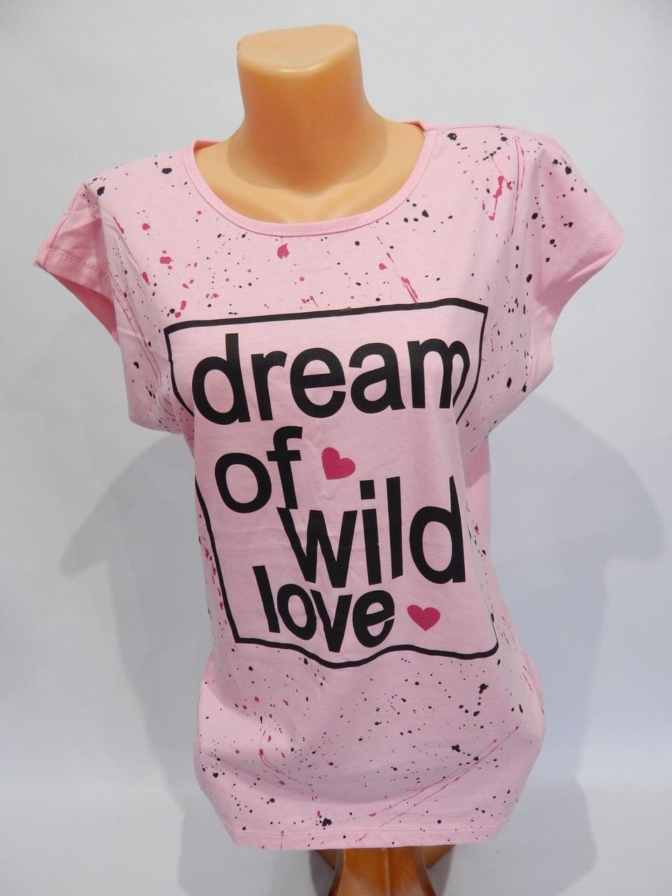 Женская футболка  Dream (Kafkame) р.46-48 004ФЖ