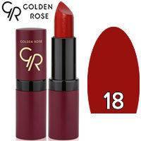 Губная помада матовая Golden Rose Velvet Matte Lipstick Тон 18 Blood red