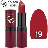 Губная помада матовая Golden Rose Velvet Matte Lipstick Тон 19 Maroon