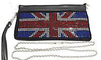 """Клатч """"Британский флаг"""" на цепочке"""