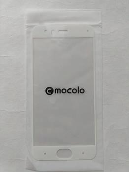 Захисне скло Mocolo для Xiaomi Mi6 з білою рамкою