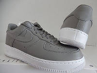 Женские кроссовки NikeLab Air Force 1 Low Light Charcoal/White