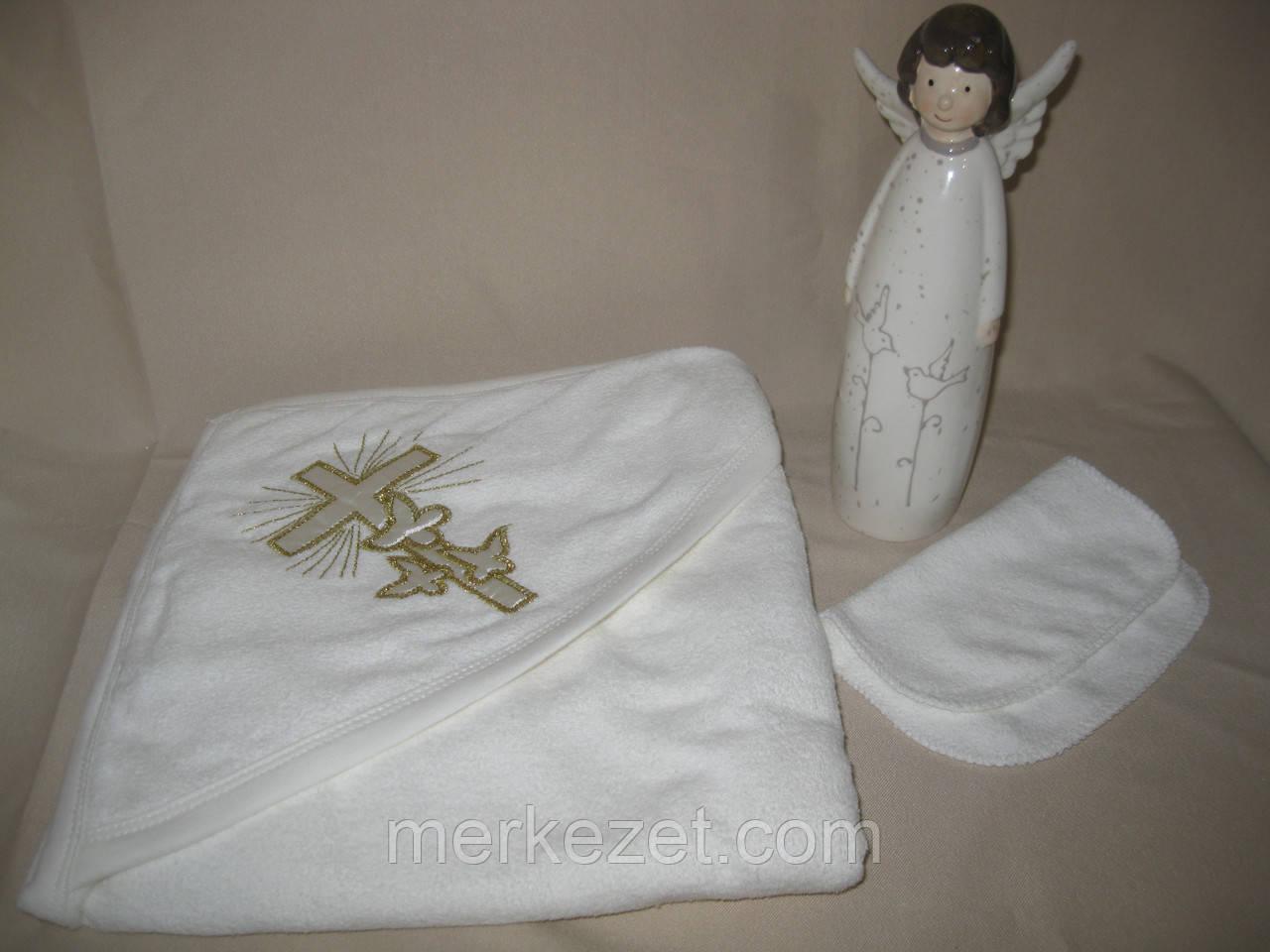 """Крыжма для крещения ребенка """"Иван и Иванка"""". Полотенце крестильное. Крыжмы. Крещение"""
