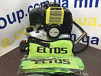 Бензокоса мотокоса Eltos БГ 3900 профи  (3 ножа/1 катушка)