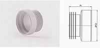 Фановая труба прямая 110мм длина 94 мм
